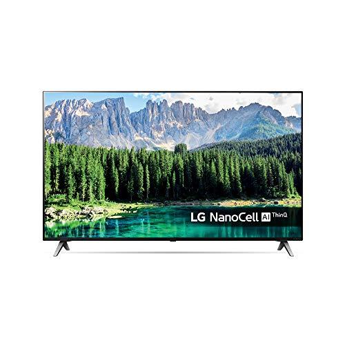 LG 49SM8500ALEXA - Smart TV NanoCell 4K UHD de 123 cm (49') con Alexa Integrada (procesador Inteligente Alpha 7 Gen. 2, Deep Learning, 100% HDR y Dolby Atmos) color negro
