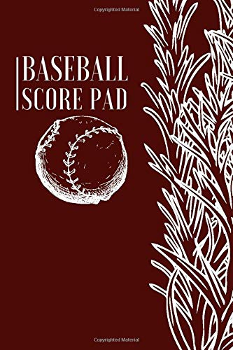 Baseball Score Pad: Professional Baseball Scoring Sheet, Score Sheet Notebook for Outdoor Games, Gifts for Game Records, Game lovers, Friends and ... with 110 Pages. (Baseball Scorebook, Band 5)