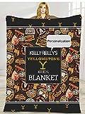Angesss Shop Personalized Yellowstone Watching Blanket, Custom Yellow Stone Throw Blanket, Throw Blanket, Personalized Watching Blanket