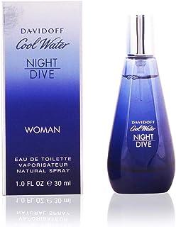 Davidoff Cool Water Night Dive for Women, 1.7 oz EDT Spray