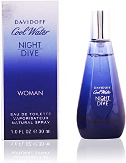 Davidoff Cool Water Night Dive for Women, 1.7 oz EDT Spray