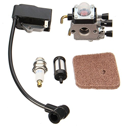 Alamor Carburateur met bobine voor STIHL FS38 FS45 FS46 FS55 KM55R FS45C FC55 Trimmer