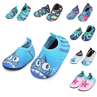 Barerun Baby Girls Boys Water Shoes Swim Barefoot Water Sport Aqua Socks for Beach Pool Swim Sand