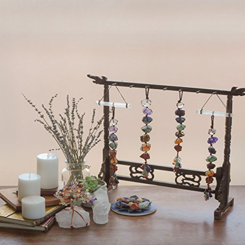 7 Chakra Gemstones Reiki Healing Crystals Ornament