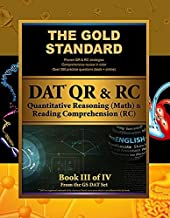 Gold Standard DAT Quantitative Reasoning (QR/Math) and Reading Comprehension (RC) [Dental Admission Test] by Gold Standard Team (2013-04-02)