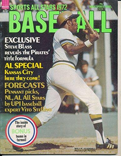 1972 Sports All Stars Baseball Willie Stargell BBmag1