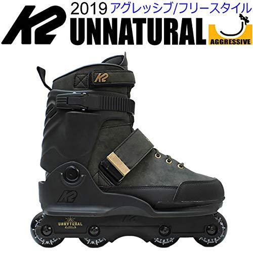 K2(ケーツー)インラインスケート2019UNNATURALUFSフレーム仕様男性用I170202601アグレッシブタイプフリースタイル日本正規品保証書あり25cm(US7)