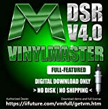 Full Featured Edition Graphic Design Print and Cut Software for PC VinylMaster DSR (No Disk)
