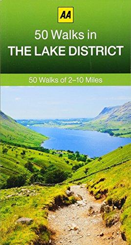 50 Walks in The Lake District (AA 50 Walks series)