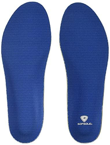 Sof Sole Men's 7-8.5 Insoles Athlete, Blue