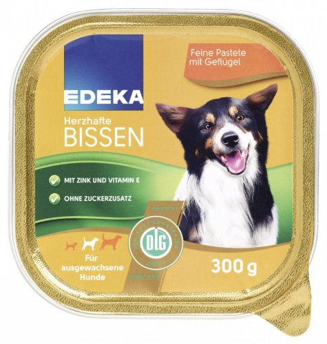 EDEKA Herzhafte Bissen mit Geflügel 300g