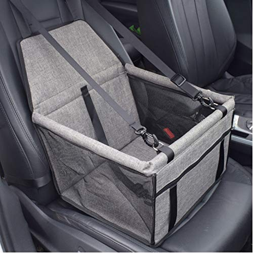 WYSTLDR Pet Cat Dog Carrier Waterproof Dog Booster Seat Pet Travel Protector Dog Car Seat Travelling Mesh Hanging Bag For Dogs Cats Pets Dog Carriers