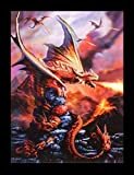 3D Bild Drache - Fire Dragon by Anne Stokes | Fantasy