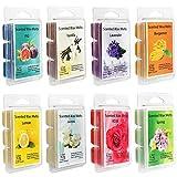iBaste Wax Melts - Cubos de cera aromática, 8 unidades, 100 velas de cera de soja para bodas y cumpleaños