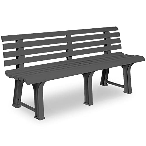 Plastic Garden Benches Amazon Co Uk
