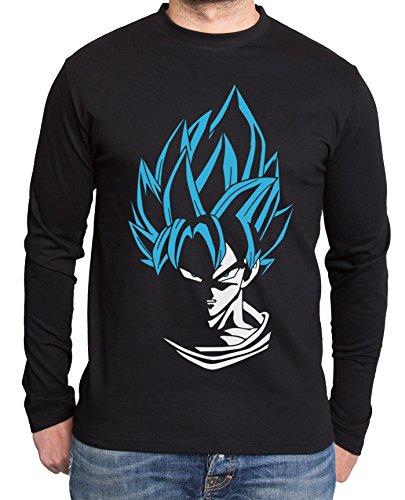Super Son Goku Dragon Master Son Ball Vegeta Turtle Roshi Db T-shirt à manches longues pour homme - - XXXL