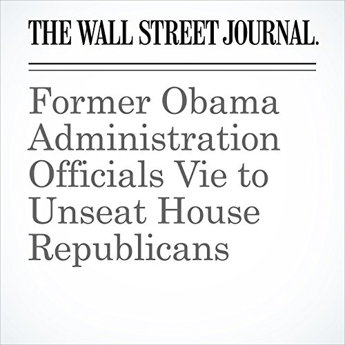 Former Obama Administration Officials Vie to Unseat House Republicans copertina