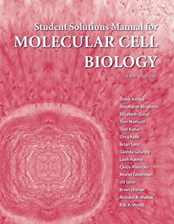 Solutions Manual for Molecular Cell Biology by Lodish, Harvey [W.H. Freeman & Company,2011] [Paperback] 7th Revised edition