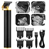 Electric Cordless Pro Li Liner Hair Clipper Outliner Grooming Cutting T-Blade Trimmer Kit Rechargeable Trimmer for Men Zero Gapped Beard Shaver Barbershop Professional