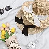 TIANFGW Sombrero para el Sol Sencillo Mujeres Playa de Veran