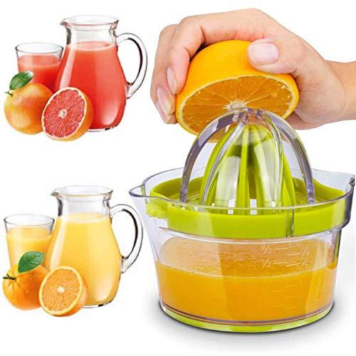 Exprimidor Naranjas Profesional de Plástico 4 en 1 Exprimidor de Limón/Cítricos con...