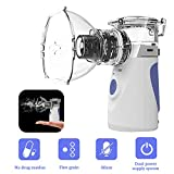 WELTEAYO Portable Mini Vaporizers, Handheld Travel Steam Compressor Noiseless Cool Mist Humidifie Machine for...