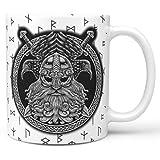 YOUYO Spark Vi-king - Tazas de café para café con café (11 onzas)