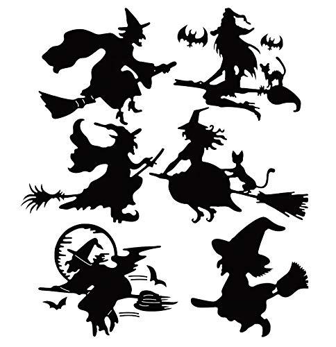 Halloween verschiedene hässliche Hexen A5 A4 A3 wiederverwendbare Schablone Dekoration Karten H9, Mylar, wiederverwendbare Schablone, A5 size - 148 x 210 mm, 5.8 x 8.3 in
