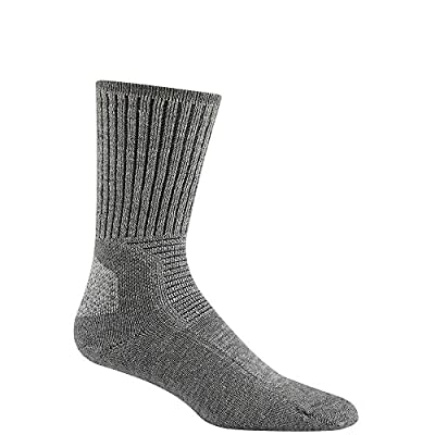 Wigwam Hiking Outdoor F6077 Sock, Light Grey Heather - Small