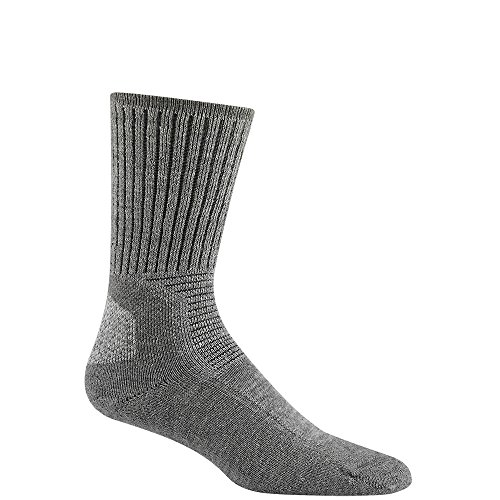 Wigwam Hiking Outdoor F6077 Sock, Light Grey Heather - Large