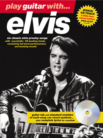 PLAY GUITAR WITH... ELVIS TAB BOOK/CD