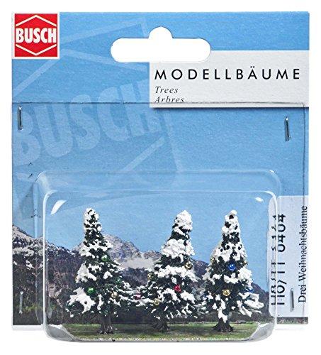 Busch 6464 - 3 Verschneite Weihnachtsbäume, Fahrzeug