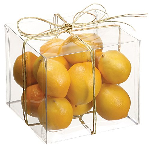 Artificial Mini Lemons - Container of 15 - Small Size
