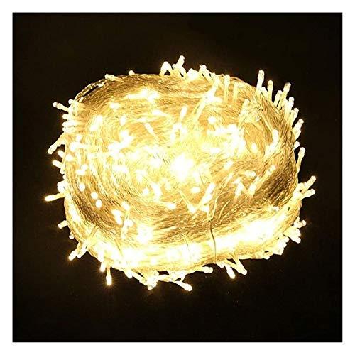 WANGJUNXIU Led String Lights,Fairy Lights, 100 Leds-1000 LEDs 8-Modes 10m-100m String Lights, Warm White Firefly Lights for Xmas, Party, Bedroom, Wedding, Indoor/Outdoor Halloween String Lights