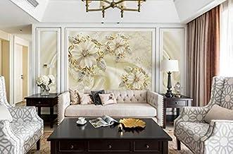Fond d'écran européen de salon TV, mur sans soudure recouvrant une grande peinture murale moderne papier peint intissé 3D, 430 × 280cm