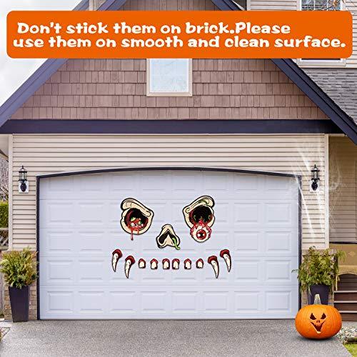 Joyjoz Decorazione di Halloween-Monster Face Decorazione per Esterni,Decorazione Halloween di Monster Face