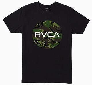 RVCA Boys B401WRMO Motor Fill Short Sleeve Crew Neck T-Shirt Short Sleeve T-Shirt
