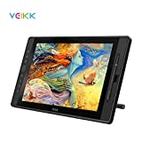 VEIKK Drawing Monitor Tablet, VK1560 Drawing Tablet with Screen Full HD IPS Pen Display Graphic Monitor with Battery Free Passive