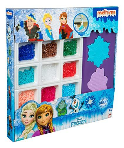 Sambro DFR15-4675 - Bügelperlen Mega Set, Meltumz Disney Frozen, 6000 Teile
