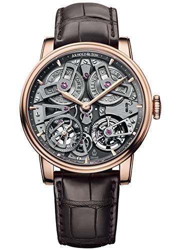Arnold & Son Herren-Armbanduhr Tourbillon Chronometer No. 36 18kt Roségold Analog Handaufzug 1ETAR.S01A.C112A