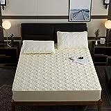 YFGY Drap Housse pour lit Electrique,Linge de lit à la Maison de Drap-Housse élastique, Couvre-lit de Protecteur de Matelas pour...