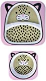 Skip hop Zoo Melamine Set - Leopard baby bowls May, 2021
