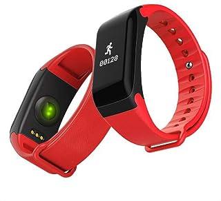 XNNDD Reloj Deportivo Inteligente Hombres y Mujeres Presión Arterial Reloj de vigilancia de oxígeno sanguíneo Rastreador Deportivo Reloj Inteligente a Prueba de Agua