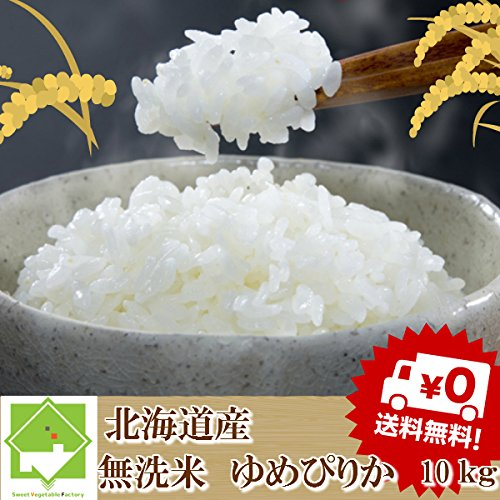 無洗米 10kg ゆめぴりか 北海道産