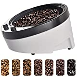 GWQDJ 1800W Coffee Bean Roaster Electrical Coffee Bean Roasting Machine Household Baking Machine Coffee Beans Roasting Machine for Home Use (220-240V)