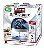 Rubson AERO 360º Air dehumidifier for the home, humidity absorber and anti odor for rooms of 20 m², included 1 neutral refill of 450 g