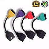 Goldplay MuECUScan Mu ECU Scan OBD2 Adaptador OBD Cables Adaptador Set