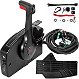 Mophorn Outboard Remote Control 881170A15 Boat Motor Side Mount Remote Control Box with 8 Pin fit for Mercury Outboard Engine PT