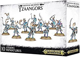Games Workshop Warhammer Age of Sigmar Tzeentch Arcanites Tzaangors (10 Miniatures)