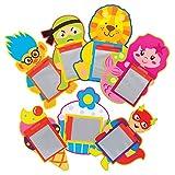 Baker Ross Pizarras Mágicas Surtidas AT912 (paquete de 15) para bolsos de fiesta y pequeños juguetes para niños